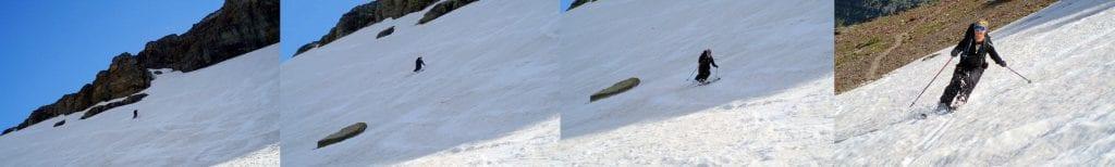 Jenn's skiing montage