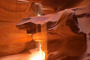 Antelope Sand Fall