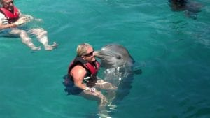 Jenn and Dolphin