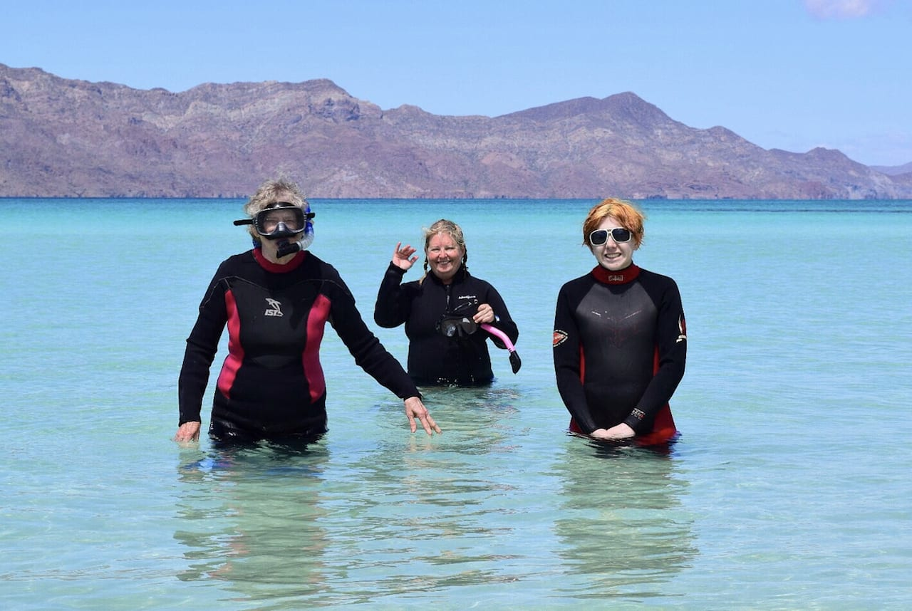 Jenn of Coleman Concierge took her daughter and her mom to Baja for the latter's 70th birthday.