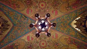 Ace Theater Ceiling