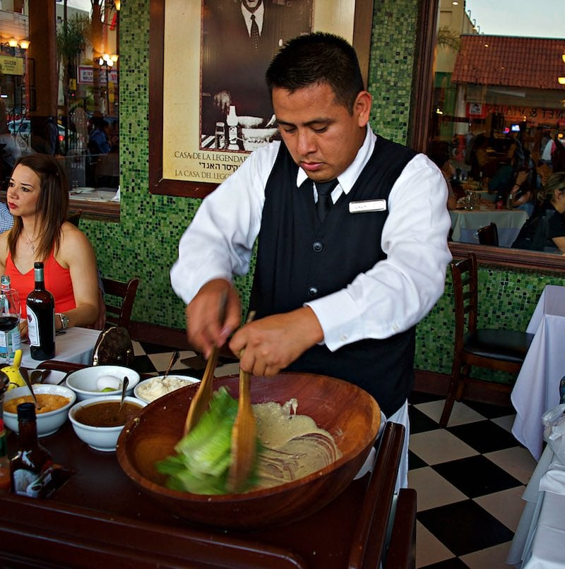Caesar Salad in Tijuana